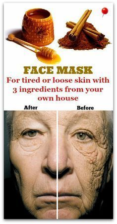 Tired or loose skin ? The ideal solution is a mask made out of 3 ingredients that can be done easily at home. You will see immediate results!