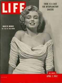 LIFE Magazine cover. April 7, 1952.  inside.chanel.com