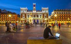 Valladolid  La plaza! Como extrano