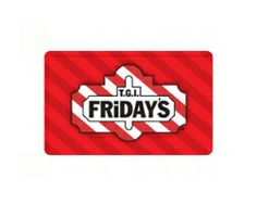 Win TGI Friday's Gift Cards Online from BidSerious Discount Auctions
