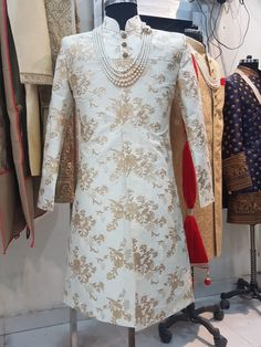 Sherwani by esthetique For detail +919878531000