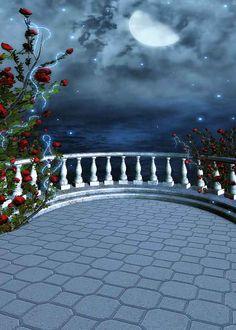 Retro Bridge 5' x 7' Digital Printing Backdrop by GladsBuy on Etsy