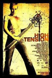 Haute Tension (High Tension, also known as Switchblade Romance in the UK) is a 2003 French horror film directed by Alexandre Aja and staring Cécile … Best Horror Movies, Horror Movie Posters, Horror Films, Scary Movies, Good Movies, Film Posters, Haute Tension, High Tension, Internet Movies