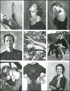 Jessica Lange and Sam Shepard by Bruce Weber, Vanity Fair October 1983