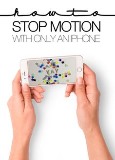 HOW TO CREATE ANIMATED STOP MOTION SCENES USING ONLY AN IPHONE | THE PAPER CURATOR