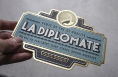 La Diplomate by Rice Creative, via Behance