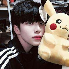 ulzzang, boy, and pikachu image Korean Boys Hot, Korean Boys Ulzzang, Korean Babies, Ulzzang Couple, Ulzzang Girl, Korean Guys, Cute Asian Guys, Pretty Asian, Asian Boys