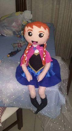 Ana frozen estilo mangá