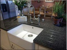 Awesome Mutfak Granit Tezgah Check More At Https://www.granices.com. Butler SinkWork  SurfaceBlack ...