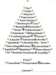 ABRACADARTE: Saboreando Palavras: Árvore de Natal