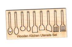 Kitchen utensils, miniature