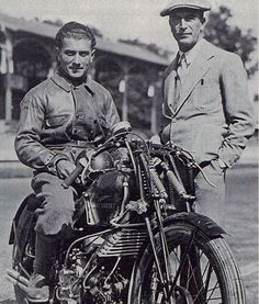"A great #story always has a strong incipit. The ""Moto Guzzi"" public limited company  was established in Genoa on 15 March 1921. The three founders were friends bound by ties of courage and esteem: Emanuele Vittorio Parodi, his son Giorgio and Carlo Guzzi. The Eagle emblem was chosen in #memory of their friend Giovanni Ravelli, a pilot who had died on 11 August 1919 during a test flight. #Moto #Guzzi #history Dicover more!"