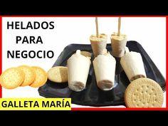 Limber Recipe, Ice Cream Youtube, Ice Cream Cookies, Love Food, Oreo, Frozen, Cooking Recipes, Cheese, Snacks