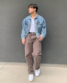 Summer Outfits Men, Stylish Mens Outfits, Casual Outfits, Black Men Street Fashion, Retro Outfits, Mens Clothing Styles, Streetwear Fashion, Aesthetic Fashion, Clothes