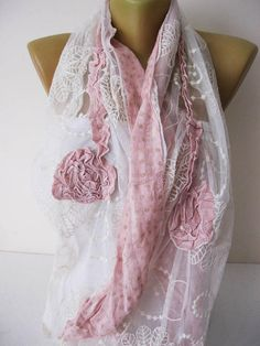 Lace scarf-Fashion Shawls gift Ideas For Her Women's Christmas Fashion, Christmas Gifts For Her, Presents For Women, Lace Scarf, Lightweight Scarf, Scarf Styles, Womens Scarves, Fashion Accessories, Fashion Jewelry