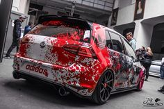 Golf Gti R32, Gti Mk7, Car Tuning, Car Wrap, Cars And Motorcycles, Volkswagen, Graphics, Graphic Design, Tuner Cars