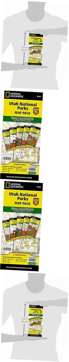 North America 164806: Utah National Parks [Map Pack Bundle] ( Trails Illustrated Map) -> BUY IT NOW ONLY: $63.12 on eBay!