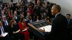 """Obama meets press for final time as President, says, """"We're going to be okay."""""""