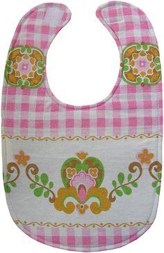 Free sewing tutorial and pattern baby bib