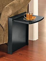 Tuc-Away Fold-Down Table - Portable Sofa Side Table | Solutions