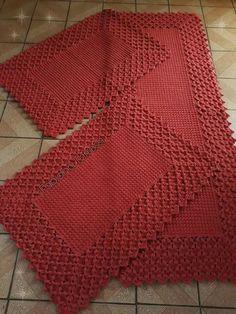 23 ideas for crochet afghan patterns free tunisian Crochet Home, Hand Crochet, Free Crochet, Tunisian Crochet, Crochet Carpet, Crochet Rugs, Single Crochet, Crochet Placemats, Crochet Doilies