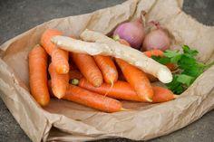 vellutata di carote e zenzero