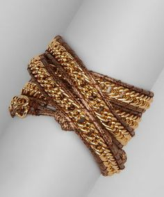 Chain Wrap Bracelet. inspiration