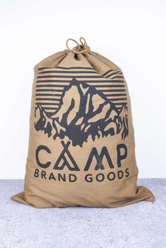 CAMP BRAND GOODS - HERITAGE LOGO STUFF SACK