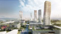Designed by ATENASTUDIO in Wuxi,China with date 2012. Images by ATENASTUDIO. ATENASTUDIO, in collaboration with Archmaster studio, has developed a masterplan for a new district in Wuxi,China, w...