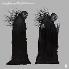 The Black Wizard by Fesbraa.deviantart.com on @DeviantArt