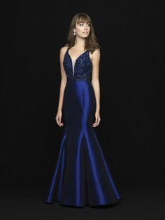 42b66ab126c083 Madison James Special Occasion 18-736 - FXProm Prom Dresses  promdress  dresses  Mermaid