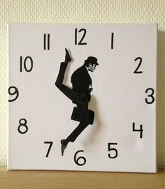 thedailywhat:    Ministry Of Silly Clocks of the Day: At any given time, Monty Python's John Cleese is doing something silly. The artistexplains how she made it.  [laughingsquid]