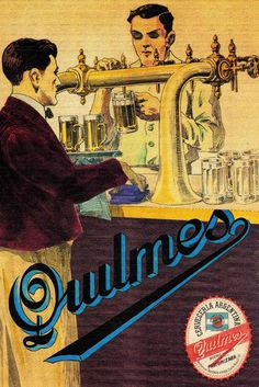 Old Posters, Posters Vintage, Vintage Artwork, Retro Advertising, Vintage Advertisements, Vintage Ads, Vintage Images, Beer Poster, Poster Ads
