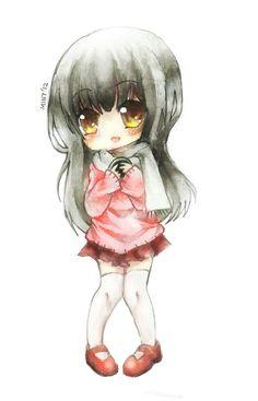 [Watercolor] Afika by mintdesu