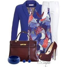 Colorful Cami Top by ccroquer on Polyvore featuring polyvore, fashion, style, M&Co, Emilio Pucci, Hermès, MOOD and Kate Spade