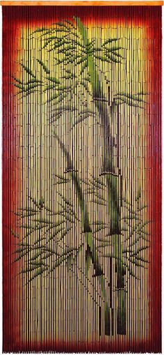 Bamboo Tree Bamboo Beads Curtain