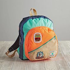 Made exclusively for us by the rad folks at Mokuyobi Threads, this colorful kids backpack features a 100% nylon construction, making it super durable and waterproof.