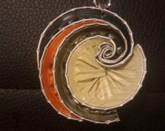 Artículos similares a Collar de búho mixta - joyas de Nespresso, reciclar, reciclado, Eco amigable café cápsulas collar. en Etsy