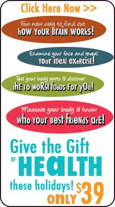 Great gift for someone who has everything - or even if you just have no idea what to get!  http://healthygift.org/