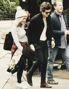 Perrie Edwards and Harry Styles manip