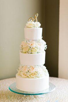 Elegant Wedding Cake Idea