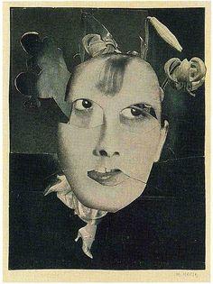 Hannah Höch, Angst (Fear), 1936 Hannah Höch (1 de noviembre de 1889- 31 de mayo de 1978) fue una artista plástica y fotógrafa alemana ...