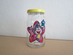 BOOTS Recycled Jar Holder by KreationsGalore on Etsy