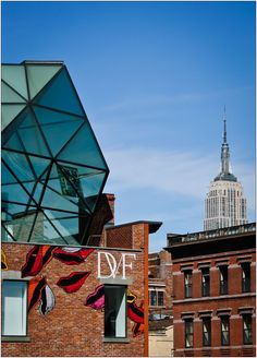 Diane von Furstenberg: Meat Packing Distract. One of my favorite spots