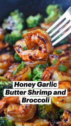 Shrimp Recipes Easy, Fish Recipes, Easy Dinner Recipes, Seafood Recipes, Asian Recipes, Easy Meals, Cooking Recipes, Healthy Recipes, Food Map Diet