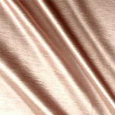 Telio Stretch Crepe Satin Blush from @fabricdotcom  Crepe Back Satin is a reversible satin fabric with a crepe side and a satin side. It's perfect for creating contrasting elements in formal wear, special occasion garments, lingerie, and bridal gowns. Colors include a golden blush.