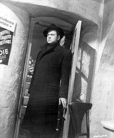 Orson Welles in Third Man directed by Carol Reed, 1948
