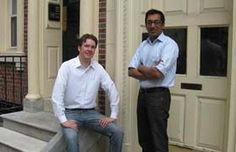 Nick Shiftan (left) and Apu Gupta of Curalate.