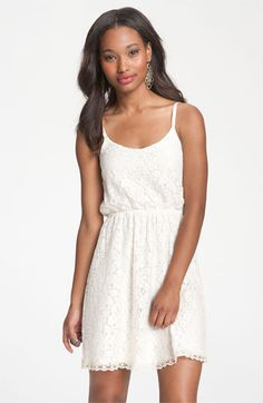 Lush Vintage Lace Camisole Dress