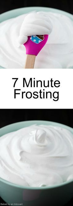 Theres nothing sweeter than an old-fashioned recipe for 7 minute frosting.